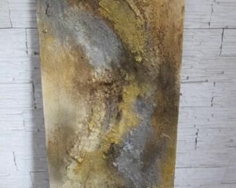 Gold / silver print