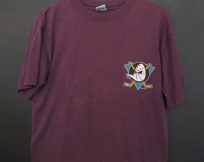 Anaheim Mighty Ducks NHL 1990's vintage Tshirt