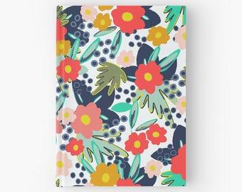 Tropical Floral Hardback Notebook