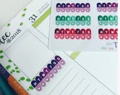 24 weeks Tablet / Pills / vitamin / contraception Medication Trackers 1 2 3 4 times a day planner stickers good for most planners
