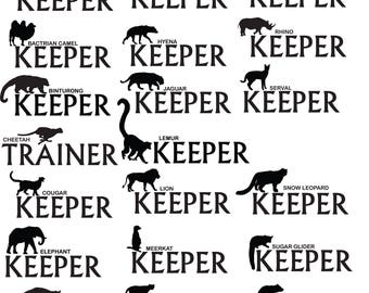 Zoo Keeper or Trainer T-shirt