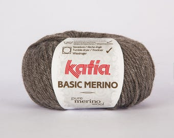 Katia Basic 8 color Merino Wool.