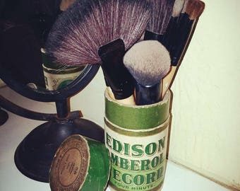 Edison record canister