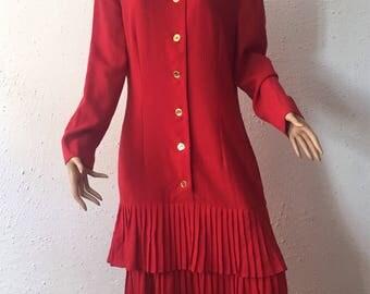 Guy Laroche, vintage wool dress