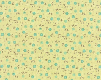 Moda REFRESH Quilt Fabric 1/2 Yard By Sandy Gervais - Grass 17866 14