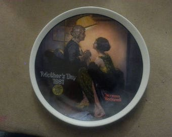 "Norman Rockwell Collector Plate ""After the Party"""