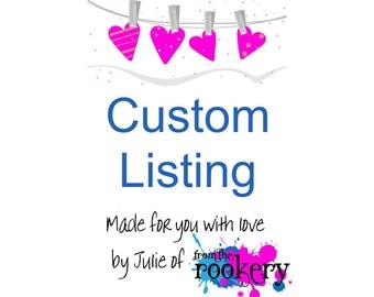 Custom Print - 30 Reasons I love you