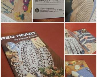Vintage 90's Crochet Pattern Book