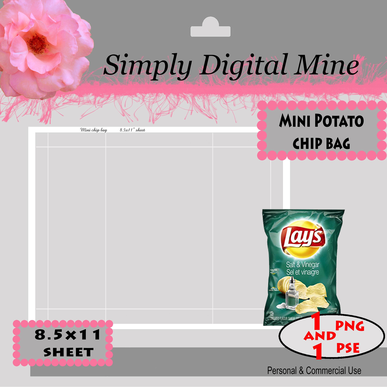you design potato chip bag templates. Black Bedroom Furniture Sets. Home Design Ideas