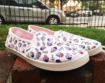 Come Sail Away Sneakers - Converse & Vans Also Available!
