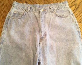 Vintage jorache high waisted jeans size 13/14 light wash