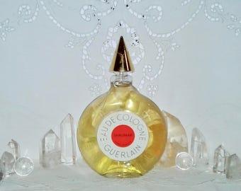 Guerlain, Shalimar, 165 ml. or 5.58 oz. Flacon, Eau de Cologne, Flacon Montre, Pochet et du Courval, 1936, Paris, France ..