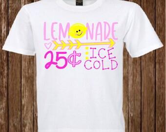 Little girl Lemonade Shirt