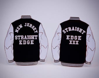 youth crew straight edge pin