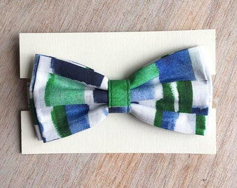 Bow tie - Green & Blue