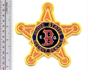 US Secret Service USSS Massachusetts Boston Field Office Red Sox Patch