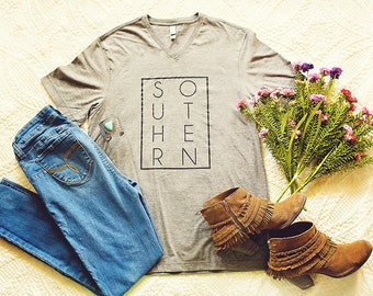 NEW // Limited Edition // SOUTHERN // Southern Girl // UNISEX // V Neck