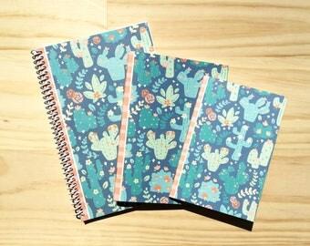 Bright Cactus Notebook