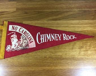 Chimney Rock NC Pennant