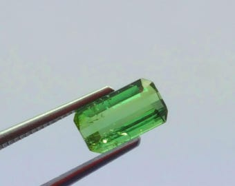 WOW 0.65 Carat Green Color Loose tourmaline gemstone from@ Afghanistan 9*6*4mm (16)