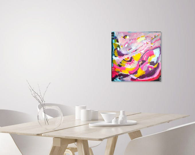 SALE- Cotton Candy Dreams- 20 x 20 in
