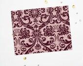 PRINTABLE Sheet - Bordeaux Glitter