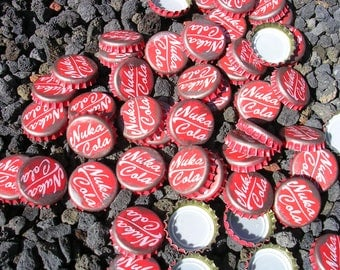 Fallout 3 Style  Nuka Cola Caps  - Put These in Your Easter Basket or Cosplay
