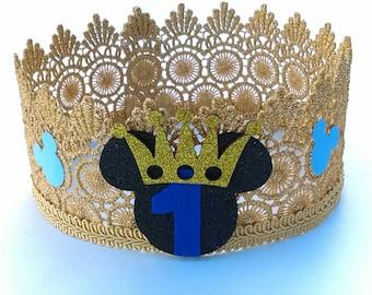 Royal Mouse Crown, Gold Crown, Boy Crown