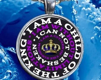 Custom Faith Affirmation Necklace