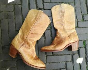 Vintage 1960 cowboy boots men