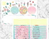 Make Waves // Notes Page Kit - Erin Condren Vertical Life Planner