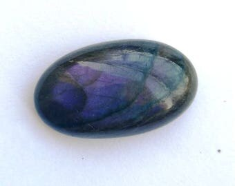 50% Off Christmas Offer Purple Labradorite Gemstone, Cabochon, shape oval, 29.15 ct, 27x16x8mm, AM23
