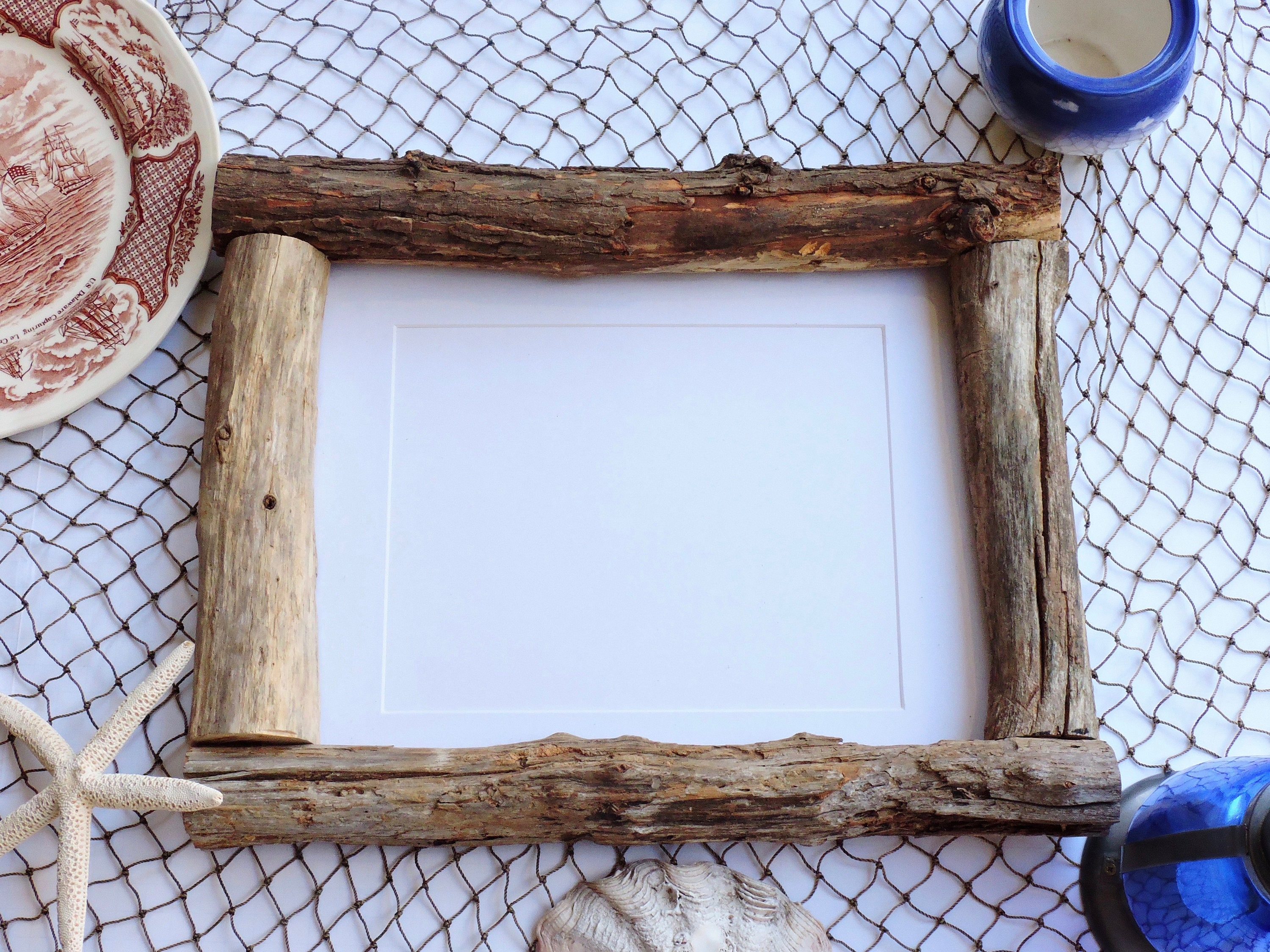 11x14 2794cmx3556cm real driftwood photo frame frankiesframeshop pl045 - Driftwood Picture Frame
