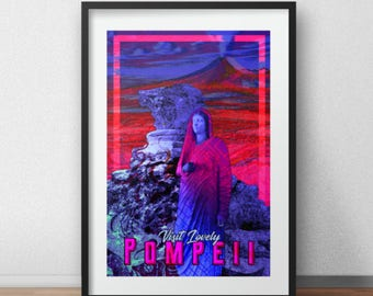 Pompeii Aesthetic Print (See item description)