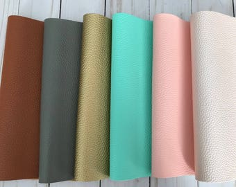 Faux leather sheets, leather sheets faux leather bow supplies craft supplies. 2 sizes 8x11 and 8x5.5 inches diy leather gold silver sheets