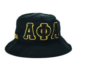 Alpha Phi Alpha Fraternity Greek Letters Bucket Hat APAH1