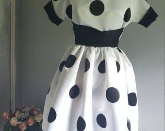 Big Polka dot dress