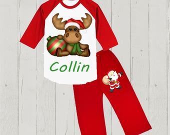 Boy's Christmas Outfit - Dear Santa