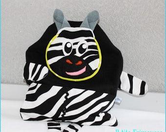 "Range pajamas ""P - little Zebra"" adorable and funny!"