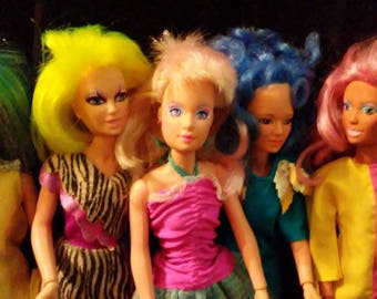 Vintage 1980s Hasbro JEM and The Holograms Dolls!!!!! Nice HTF Dolls!!