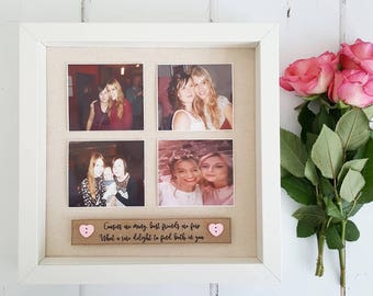 Friends Birthday Gift / Best Friends Frame / Friends Frame/ Friends Gift / Bestie Frame / Gifts for Her / Bridesmaid Gift