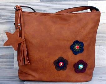 Flowers Shoulder Bag
