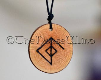 Viking Necklace Rune Necklace Love Amulet Attraction Love Runes Amulet Virility Norse Mythology Viking Jewelry Bindrune Love Talisman
