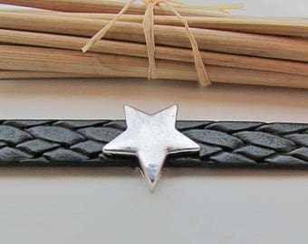 From Pearl star for 10-12 mm - silver - 19 mm in diameter - 60.19 cord
