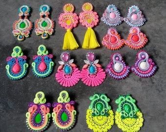Combo 9 pairs of earrings