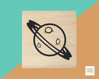 Planet - 3cm Rubber Stamp (DODRS0061)
