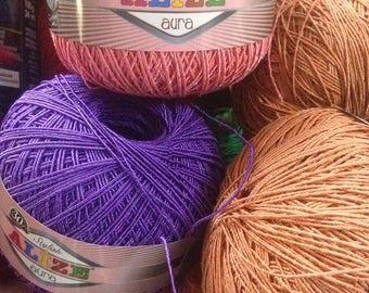 ALIZE Aura, Alize yarn, Summer yarn, Crochet Yarn, ND0078