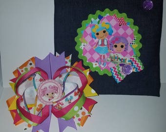 Lalaloopsy Hairbow & Purse Combo