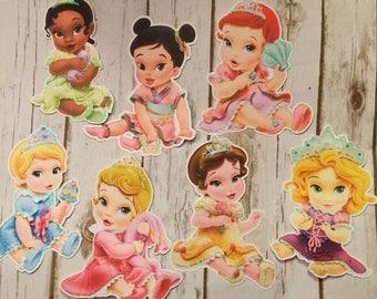 Baby Princesses Die Cuts-Parties/Decoration/Centerpieces