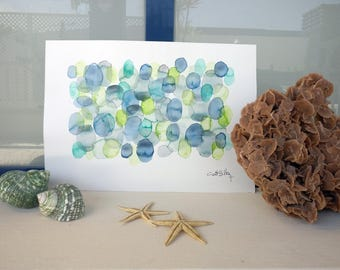 Green Blue Bubbles